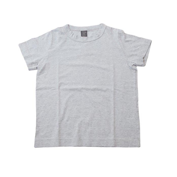 homspun 天竺半袖Tシャツ  #TOPグレー