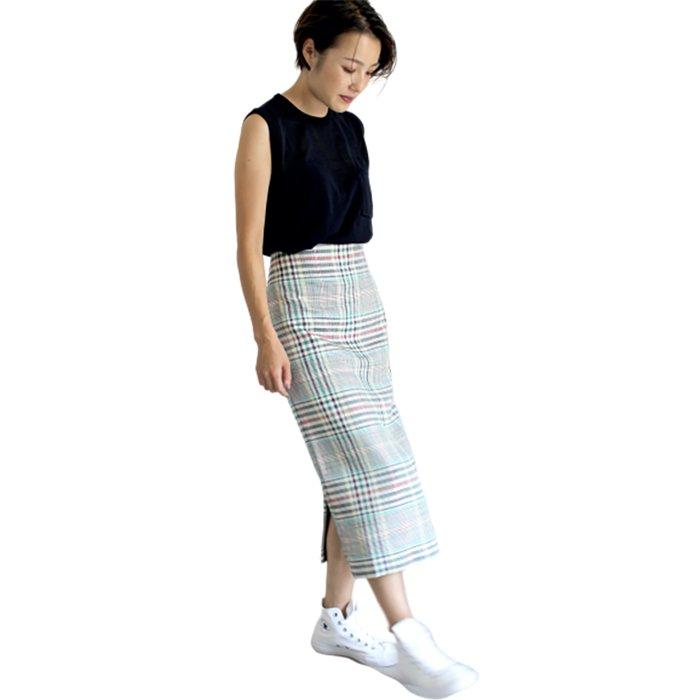 KOFTA  チェックタイトスカート