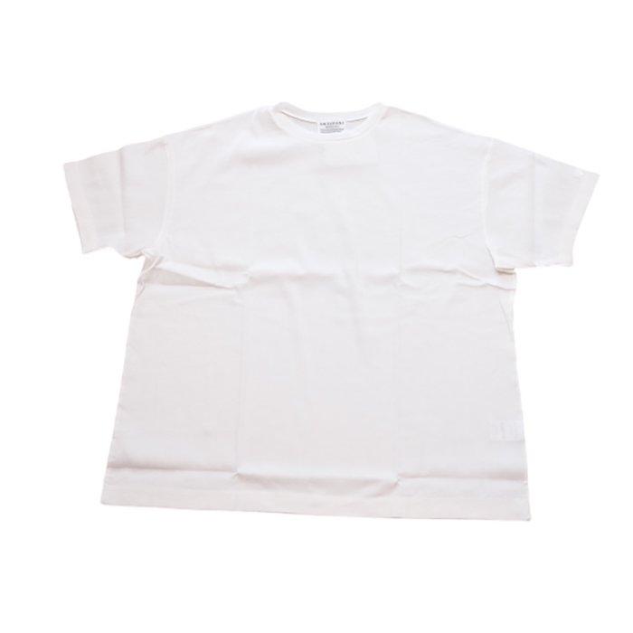 アンティパスト ビワコットンビックTシャツ #ホワイト