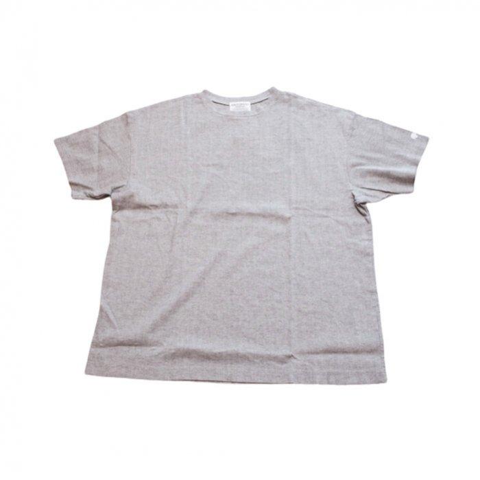 アンティパスト ビワコットンビックTシャツ #ミックスグレー