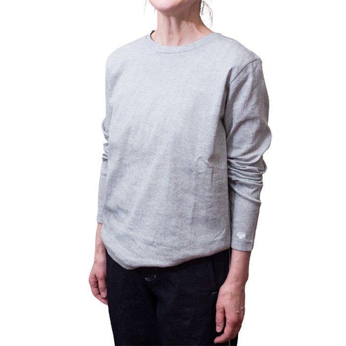 アンティパスト ビワコットン長袖Tシャツ #ミックスグレー
