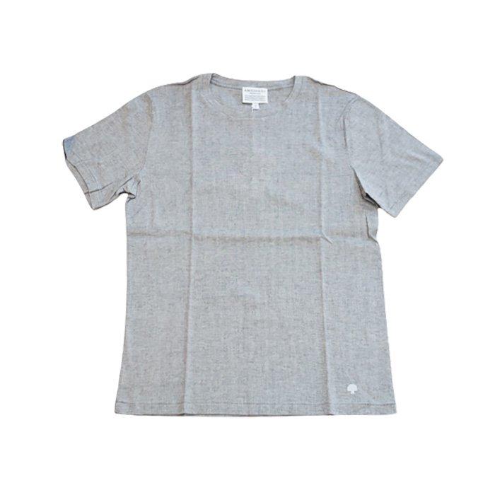 アンティパスト ビワコットン半袖Tシャツ #ミックスグレー