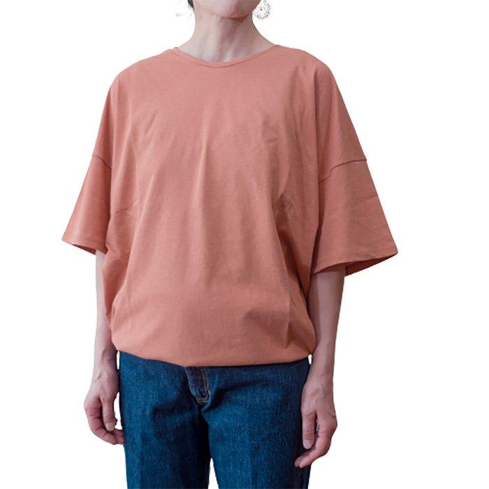 ippei takei [イッペイタケイ] 2ウエイTシャツ #コーラル