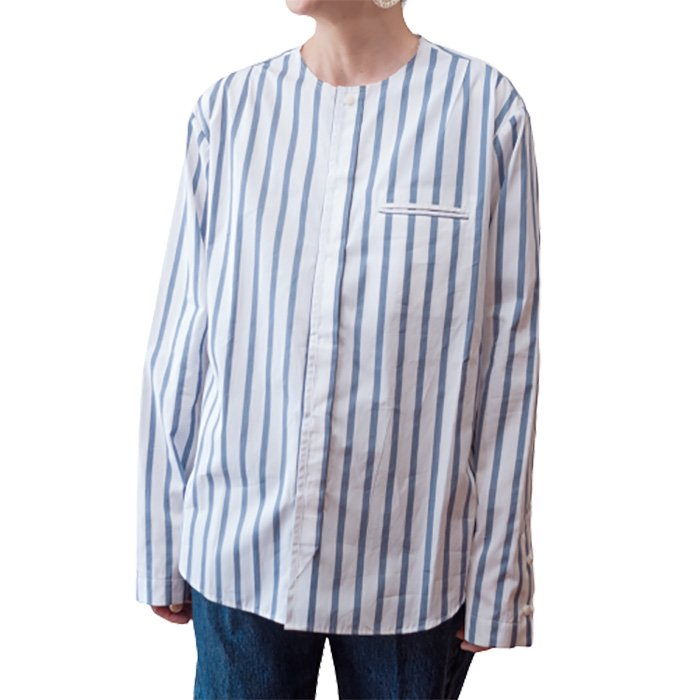 ippei takei [イッペイタケイ] no collar shirts #ストライプ