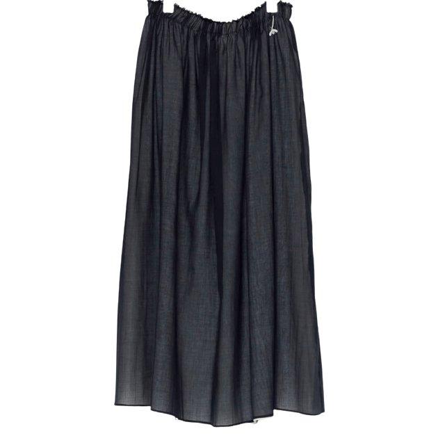アンティパスト コットンローンスカート #ブラック