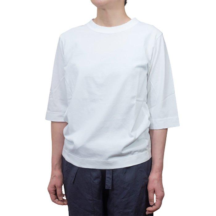 Homspun 天竺6分袖Tシャツ #サラシ