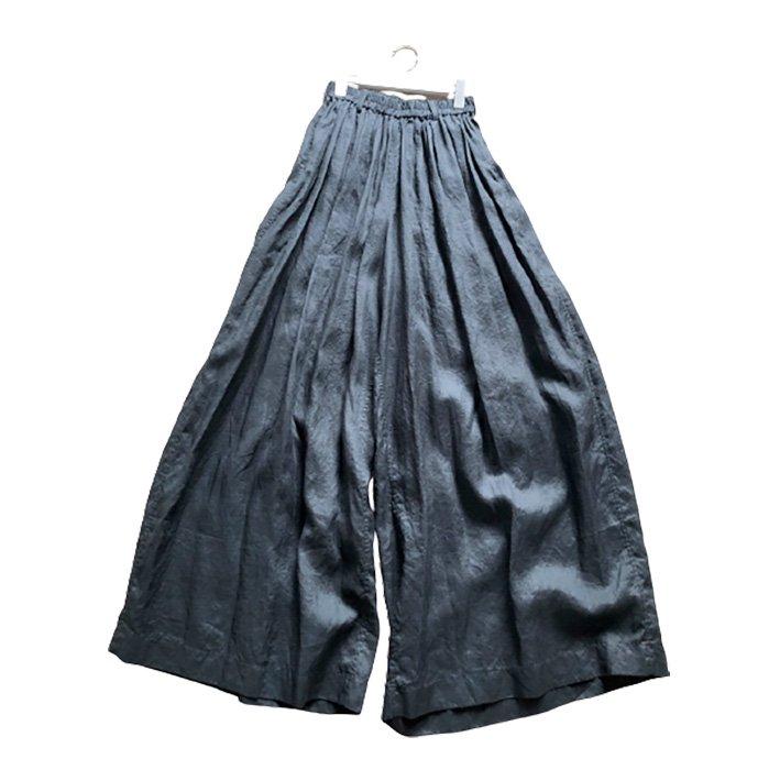 STASTNY SU [シュチャストニースー]flora/ワイドパンツ#ブラック