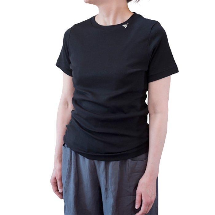 アンティパスト 蜂付きTシャツ  #ブラック