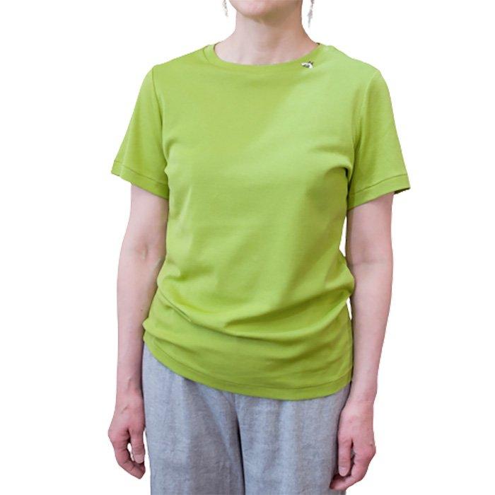 アンティパスト 蜂付きTシャツ  #ライム