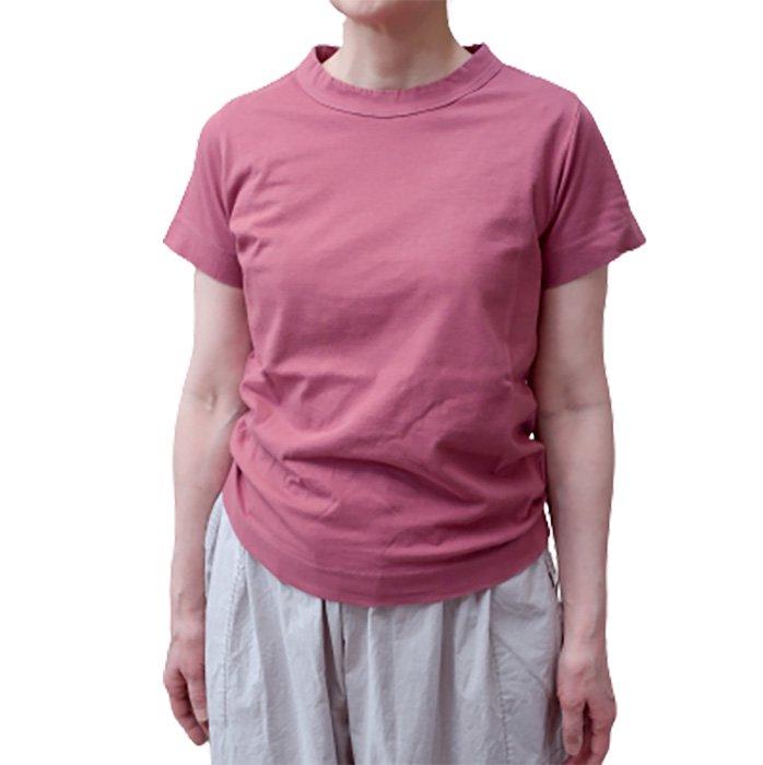 homspun 天竺半袖Tシャツ #ラズベリー