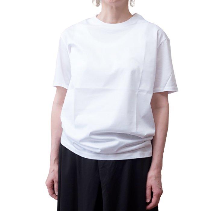 Le pivot / ル・ピボット  GIZA天竺クルーTシャツ #ホワイト