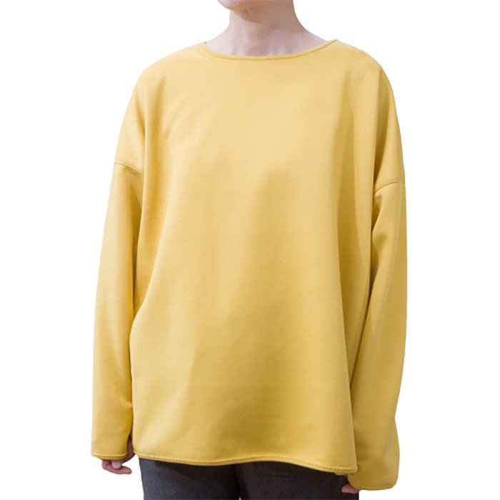 ippei takei(イッペイタケイ)round/n long T shirts #マスタードイエロー