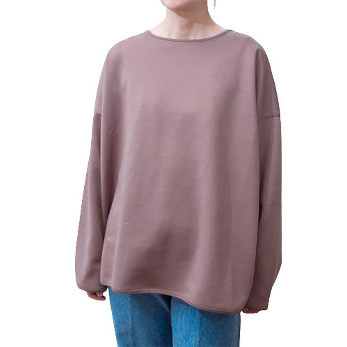 ippei takei(イッペイタケイ)round/n long T shirts #ココアブラウン