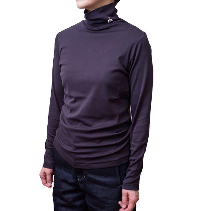 アンティパスト 蜂付きハイネックTシャツ  #GREY