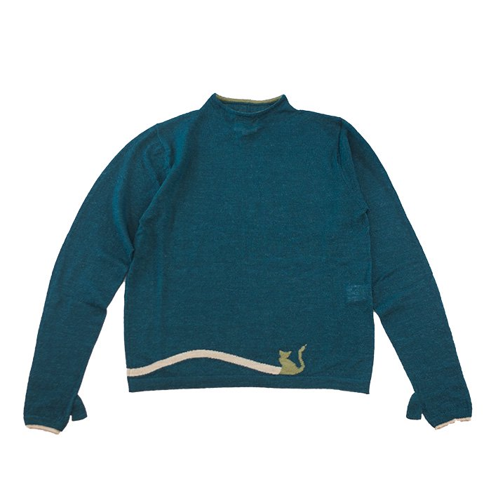 アンティパスト Jacquard Knit Pullover #グリーン GREEN