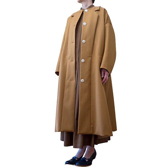 ミナペルホネン piena  コート #brown