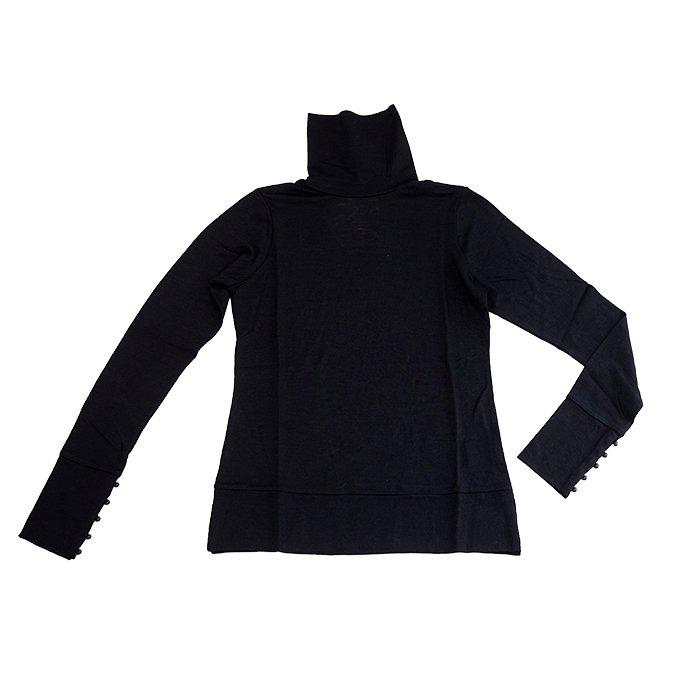 アンティパスト ウールジャージィTシャツ  #BLACK