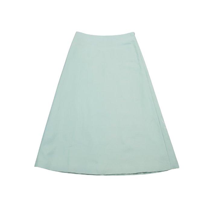 STASTNY SU [シュチャストニースー]flower embroideryスカート#グリーン