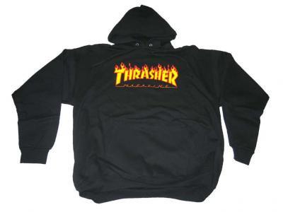THRASHER プルオーバーパーカー