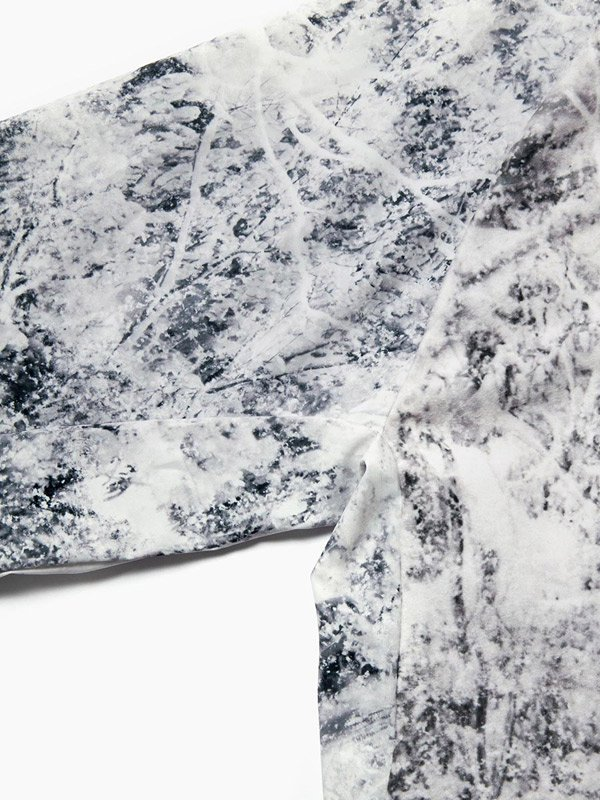取り扱いブランド [ A ] white forest printed fleece base T