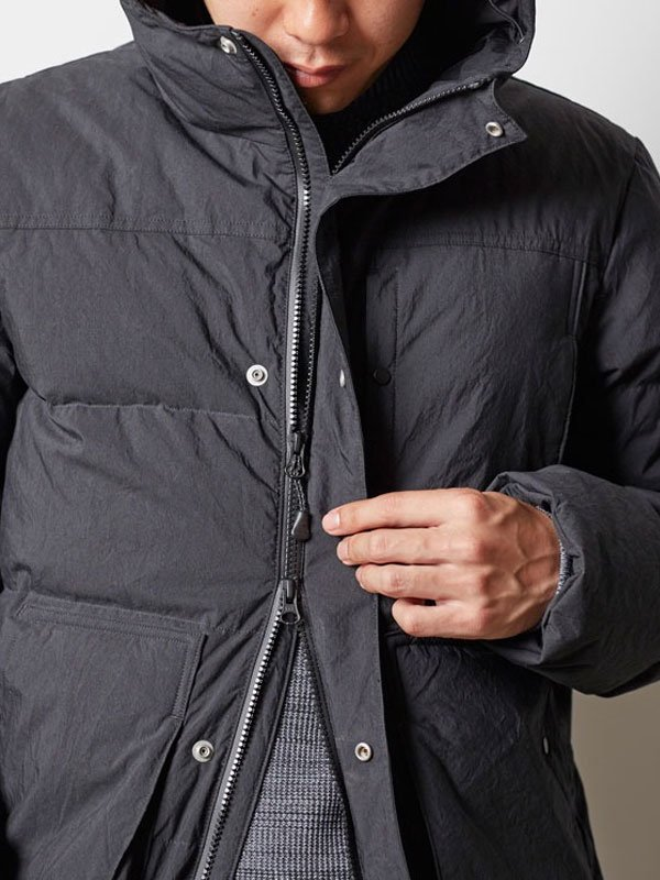 取り扱いブランド [ S ] Indigo C/N Down Jacket