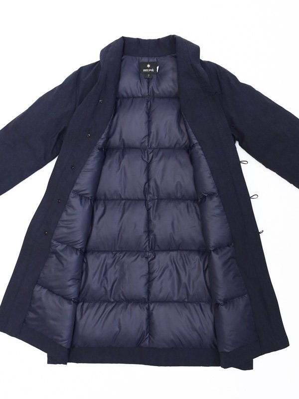 取り扱いブランド [ S ] Indigo C/N Down Long Coat Womens