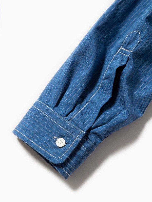 W's stripe tunic #Blue