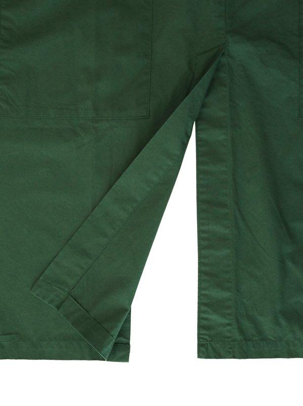 NAPRON|GATHER WRAP APRON #Green