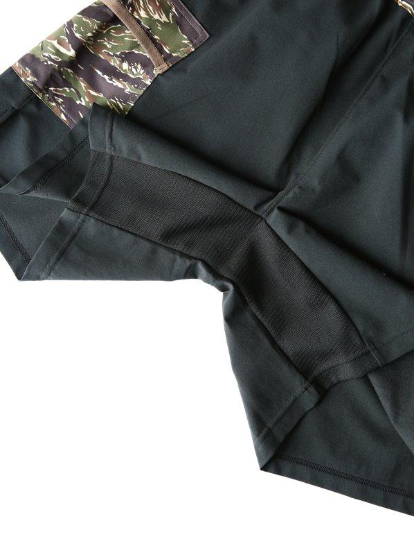 MMA×HUNGER KNOCK 7pkt Run Pants #Black Tiger Camo
