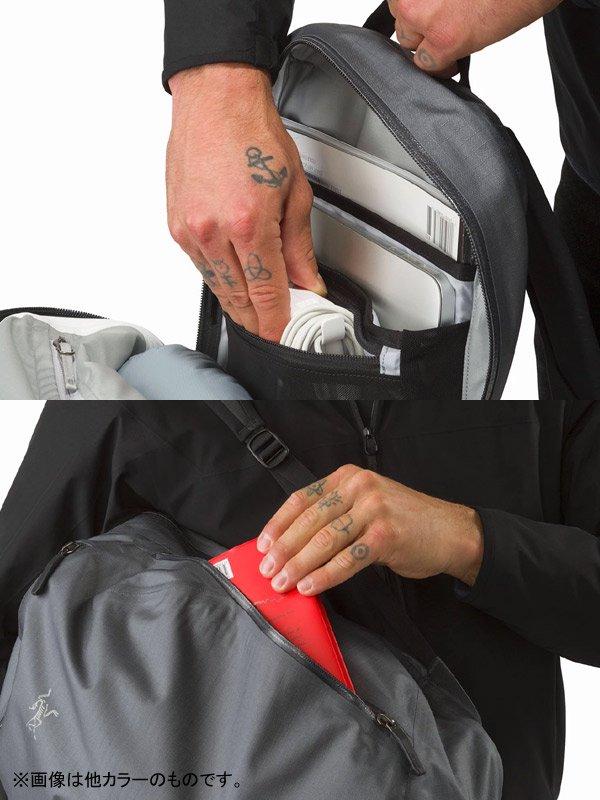 Granville 16 Zip Backpack #Black