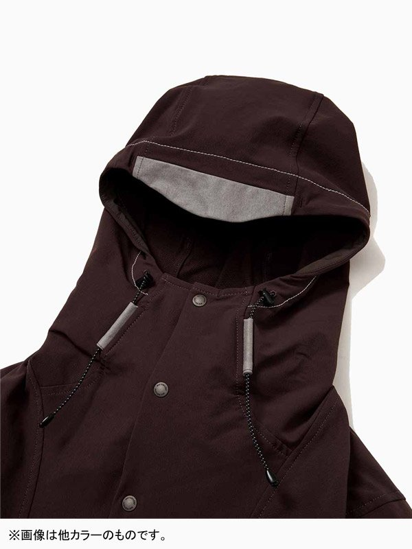 W's nylon double cloth hoodie #Black [AW93-FT014]<img class='new_mark_img2' src='https://img.shop-pro.jp/img/new/icons6.gif' style='border:none;display:inline;margin:0px;padding:0px;width:auto;' />