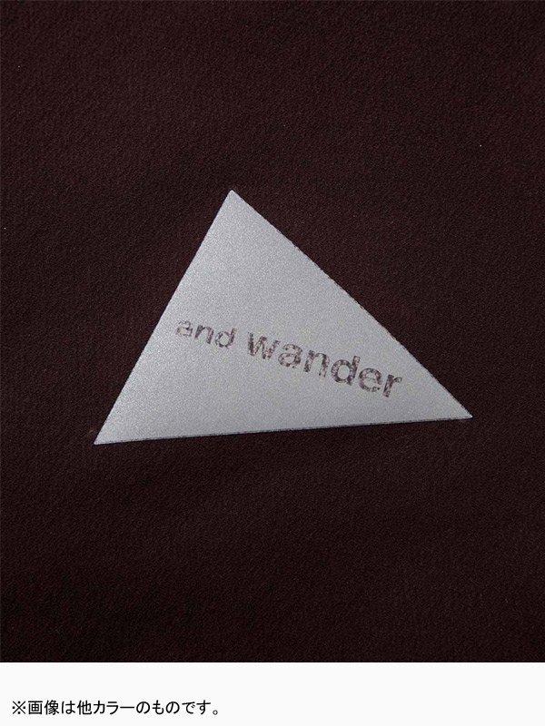 W's nylon double cloth hoodie #Black [AW93-FT014]