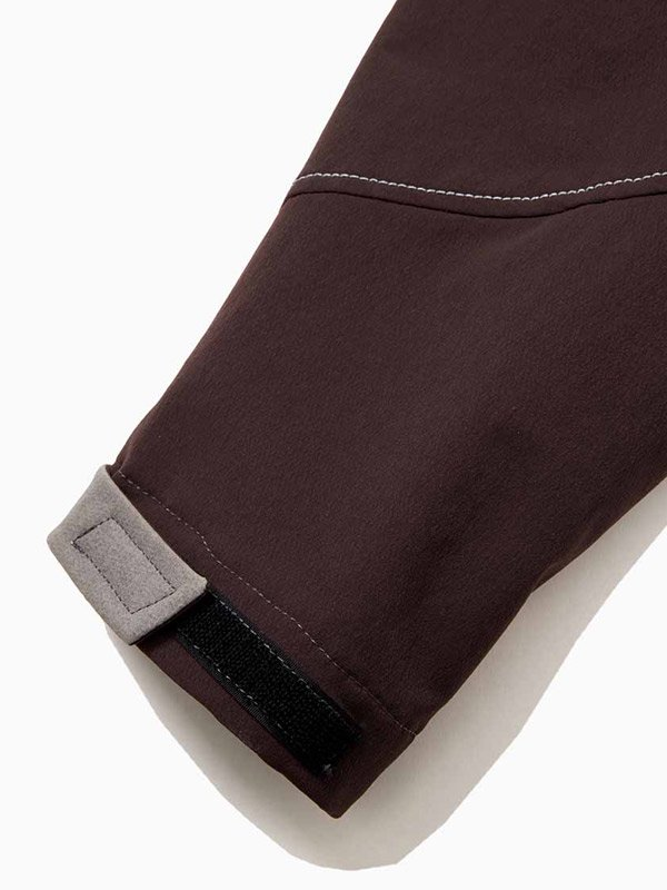nylon double cloth hoodie #Bordeaux [AW93-FT014]