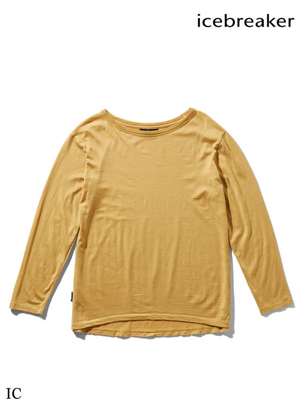 icebreaker|Women's NATURE DYED LS CREWE #IC [ITW61972]