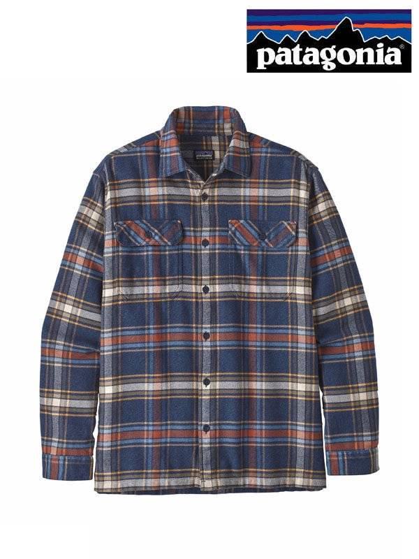 Men's Long Sleeved Fjord Flannel Shirt #DENN [53947]