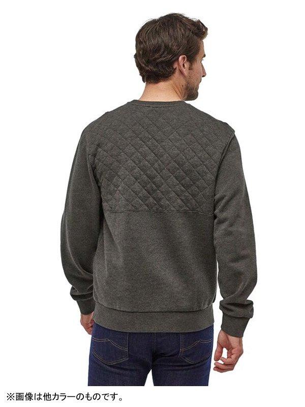 Men's Organic Cotton Quilt Crewneck Sweatshirt #NENA [25320]