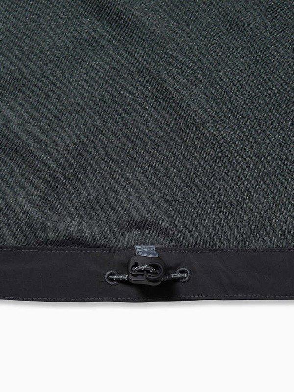 W's fleece base T #Black [AW93-JT644]