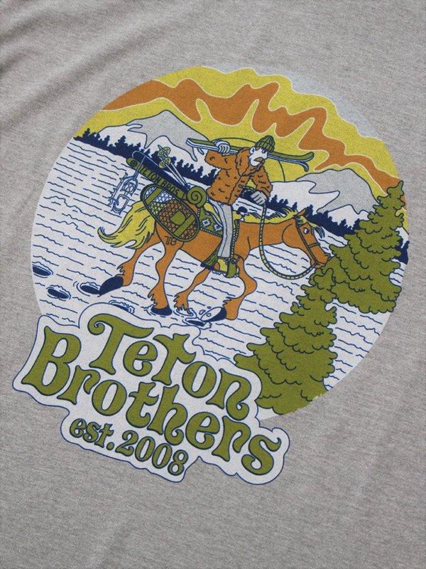 TB Ski Cowboy Tee #Gray [TB193-49030]