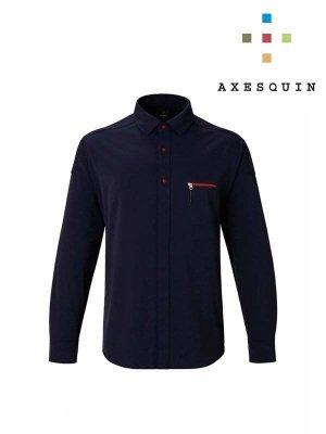 ヒトリシズカ wide collar #K65褐色 [AS1843] _ AXESQUIN | アクシーズクイン