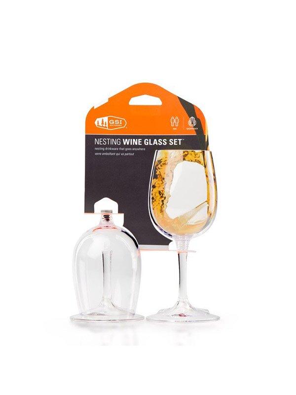 ネスティングワイングラス 2個セット [11872029]