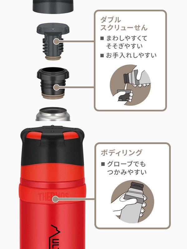 FFX-901 山専ボトル #クリアステンレス