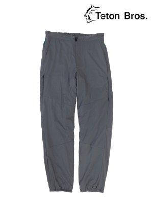 Smooth Pant (Unisex) #Dark Gray [TB193-21012] - Teton Bros. | ティートンブロス