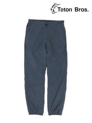 Smooth Pant (Unisex) #Carbon [TB193-21032] - Teton Bros. | ティートンブロス