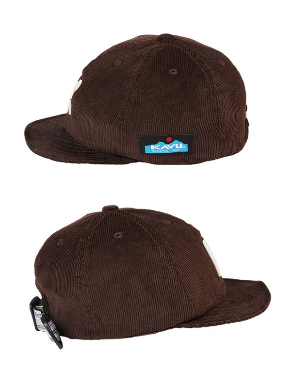 KAVU|Cord Base Ball Cap #D.Brown [19820936077000]
