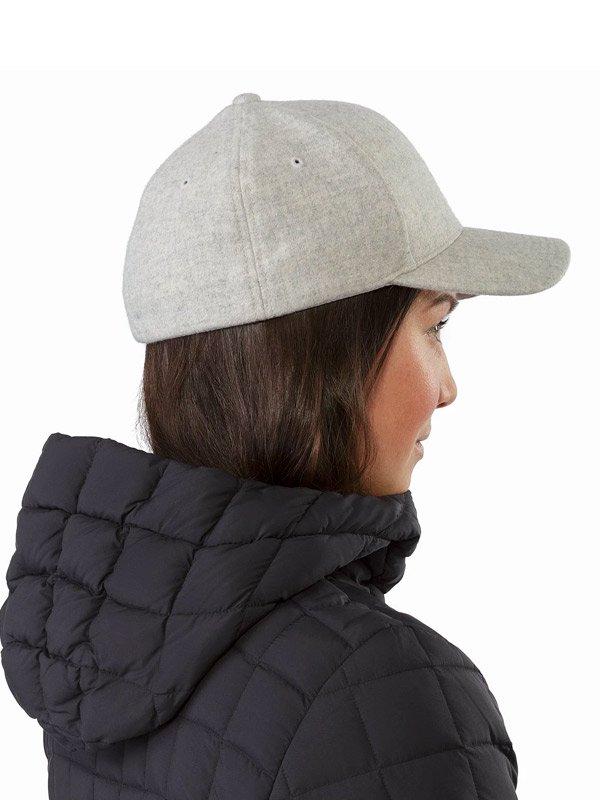Wool Ball Cap #Light Grey Heather [24555][L07240100]