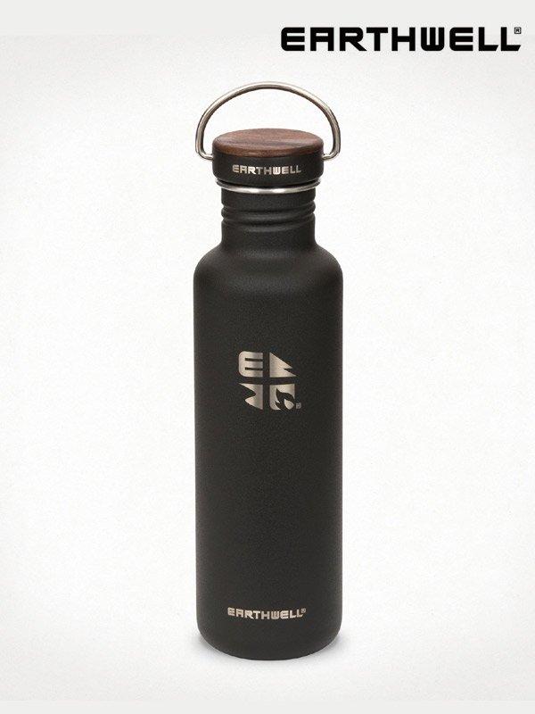 27oz Woodie Walnut Bottle #Volcanic Black [SB27-W10W10]