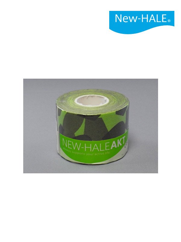 AKT ロール カモフラ (5cm) #フレッシュグリーン