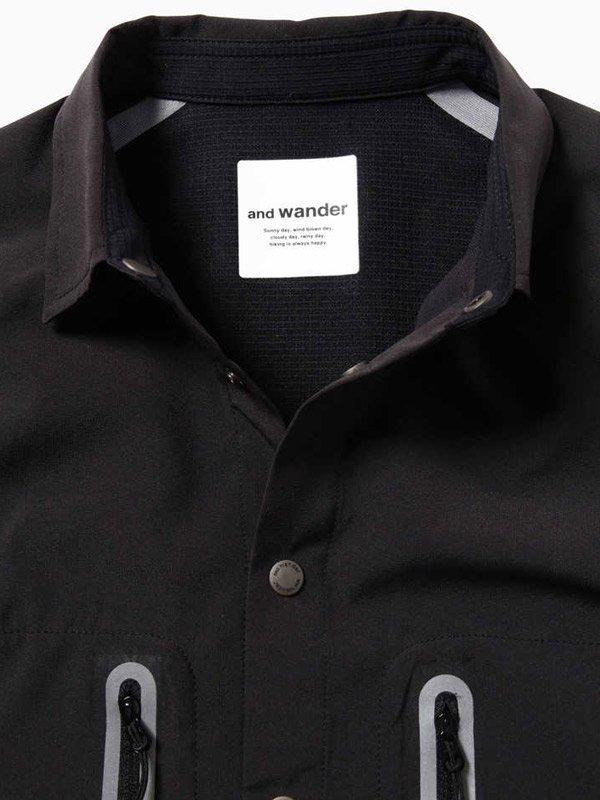 tech short sleeve shirt #Black [5740153002]