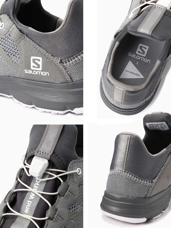reflective mesh sneaker by salomon #Gray [5740178001]