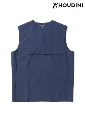 Trail Vest #Bucket Blue [258714] _ HOUDINI | フーディニ